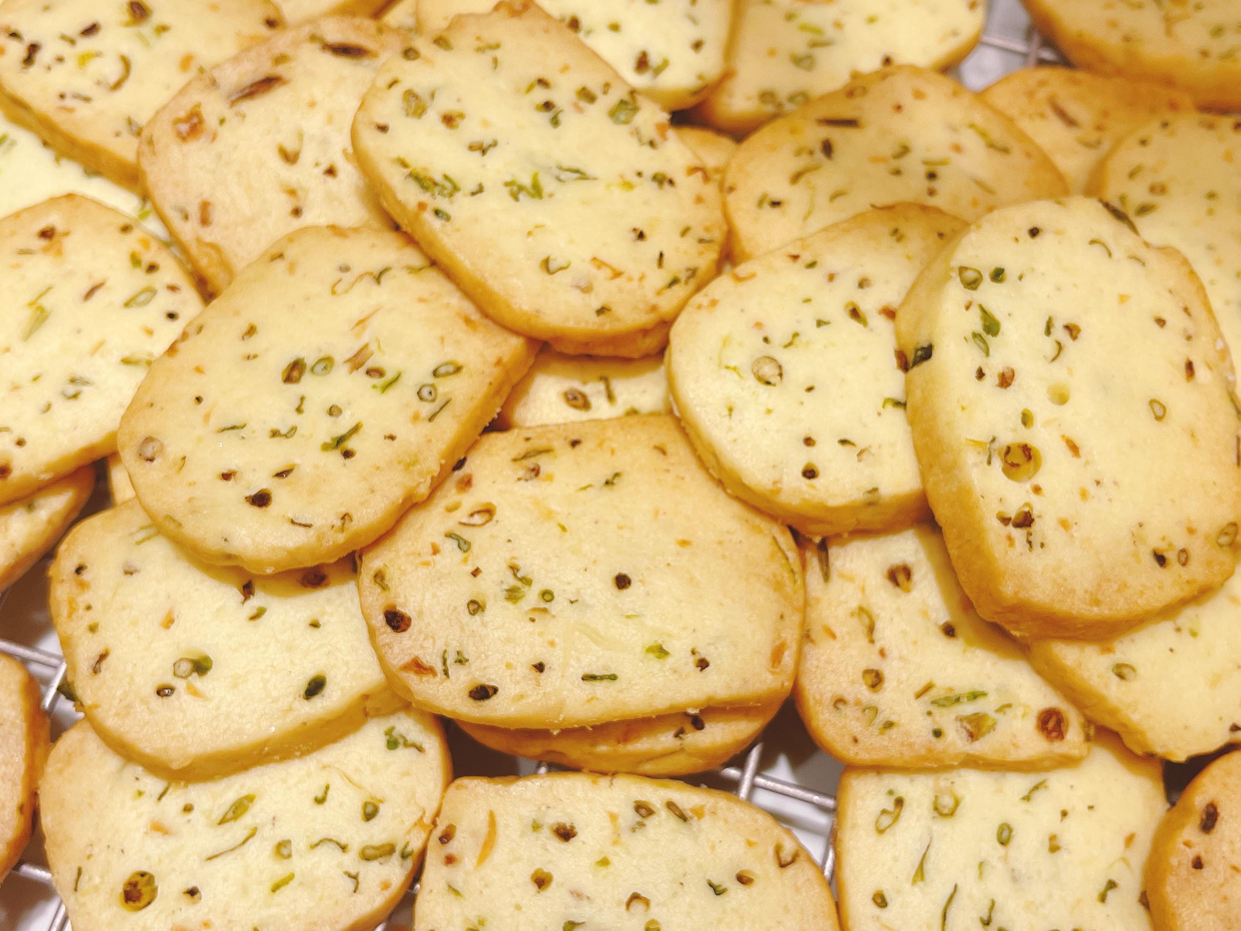 蒜香蔥花餅乾
