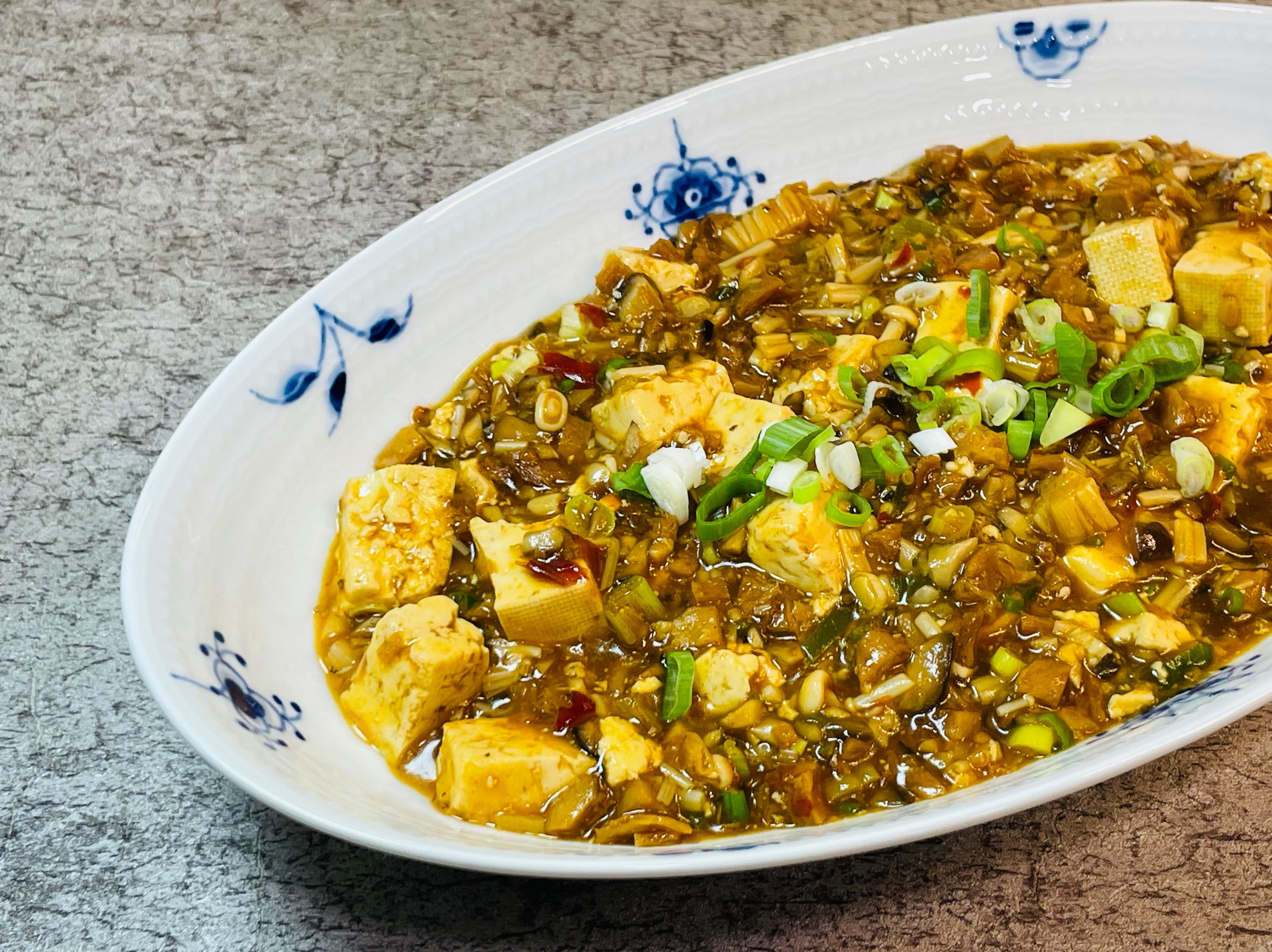 菇菇麻婆豆腐(五辛素)