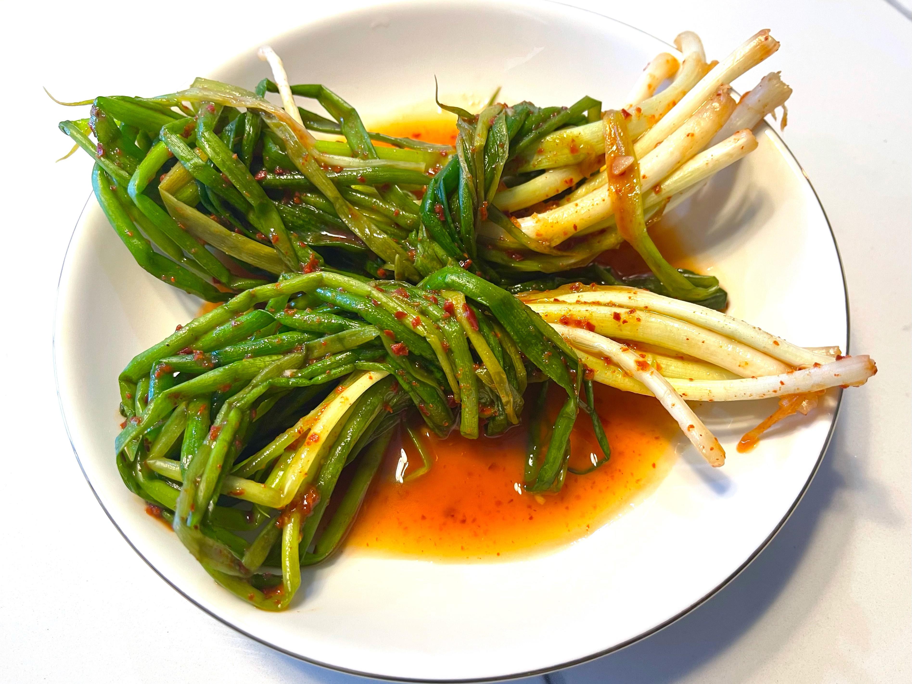 韓式蔥泡菜 파김치