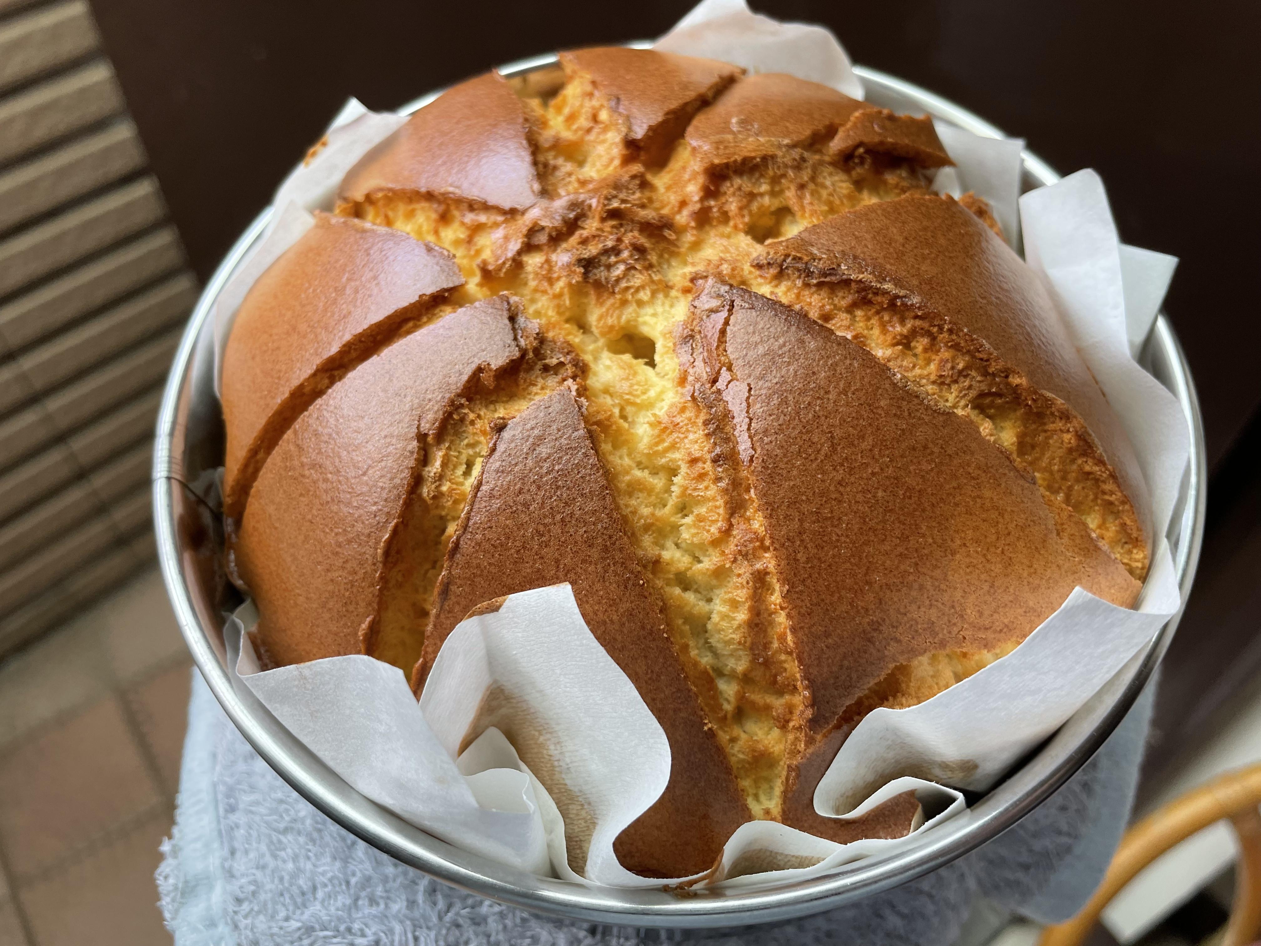 蜂蜜戚風蛋糕(減糖)