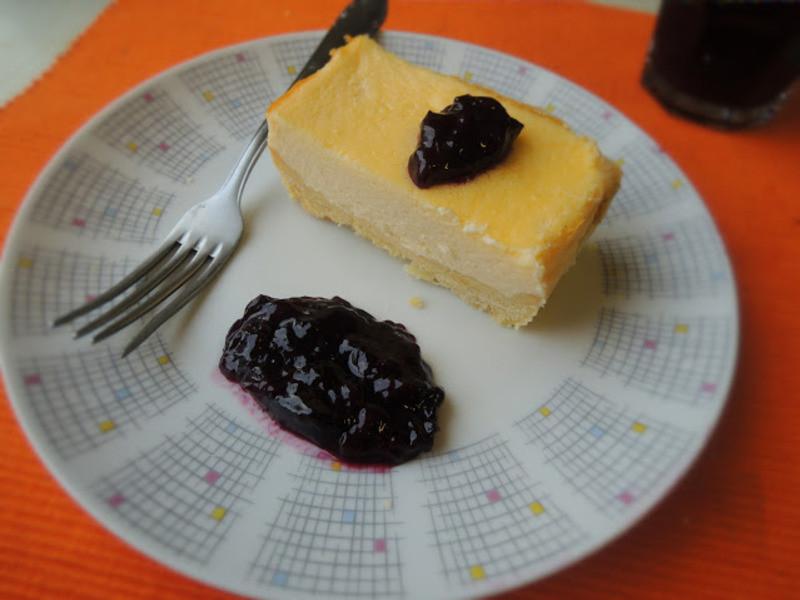 藍莓醬乳酪蛋糕