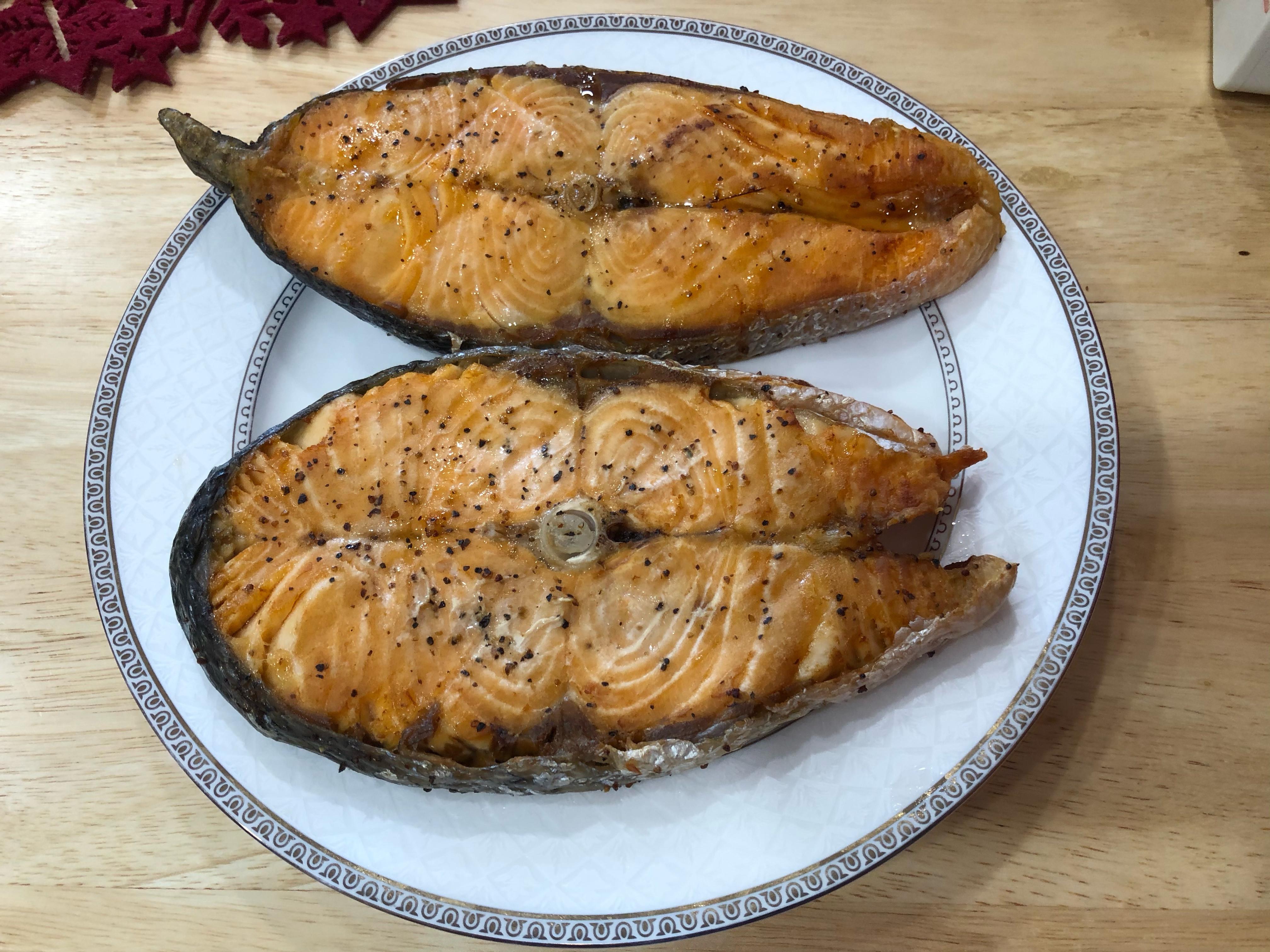 鮭魚片 氣炸鍋