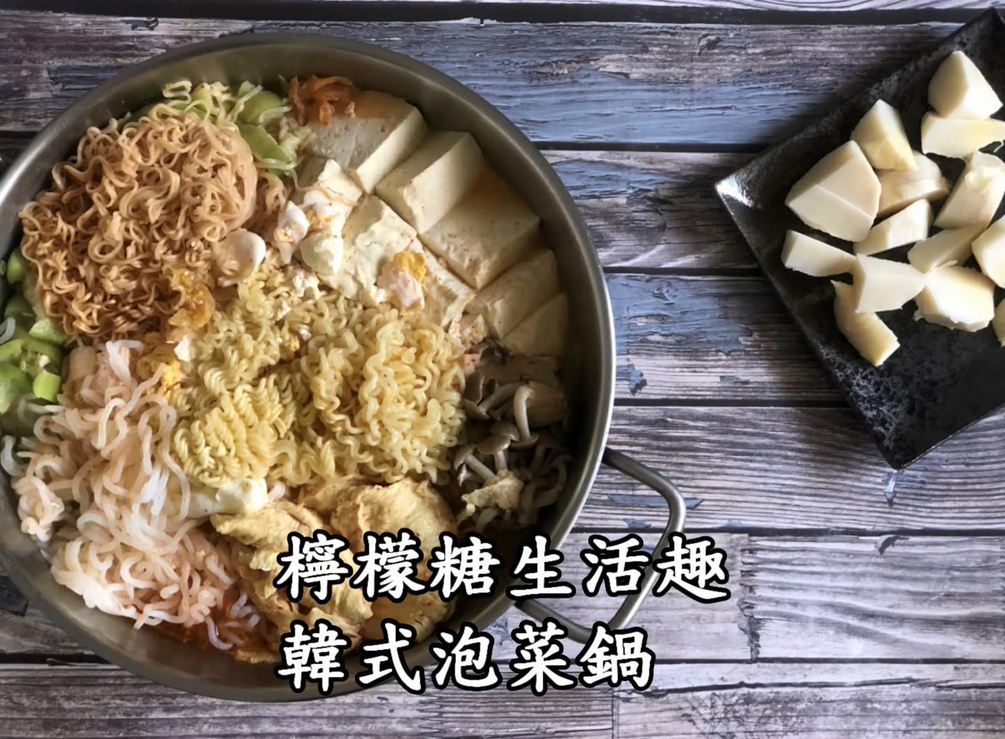 泡菜鍋。聽說韓國人煮泡菜鍋都要加這一罐⋯