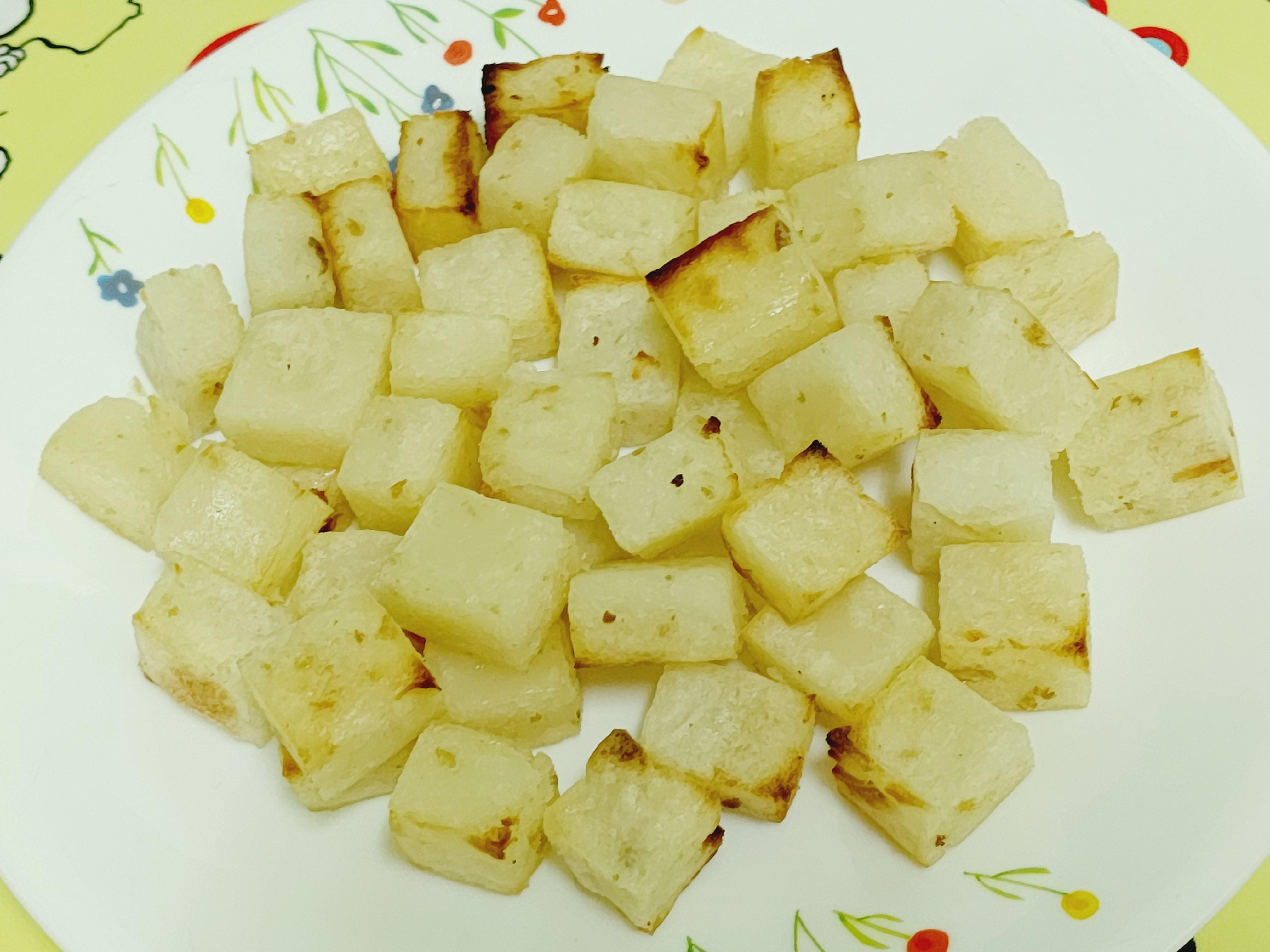 炸蘿蔔糕(氣炸烤箱版)