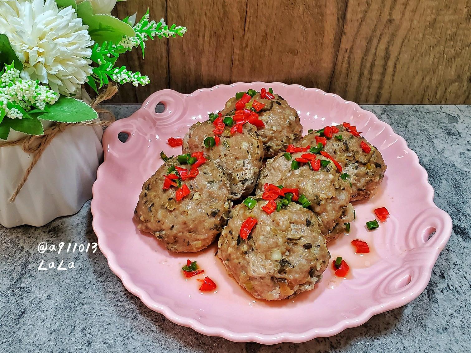瓜仔肉餅 ( 電鍋料理 )