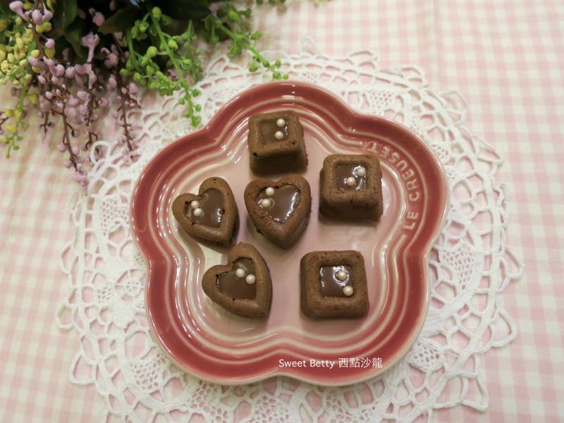 情人節巧克力小蛋糕