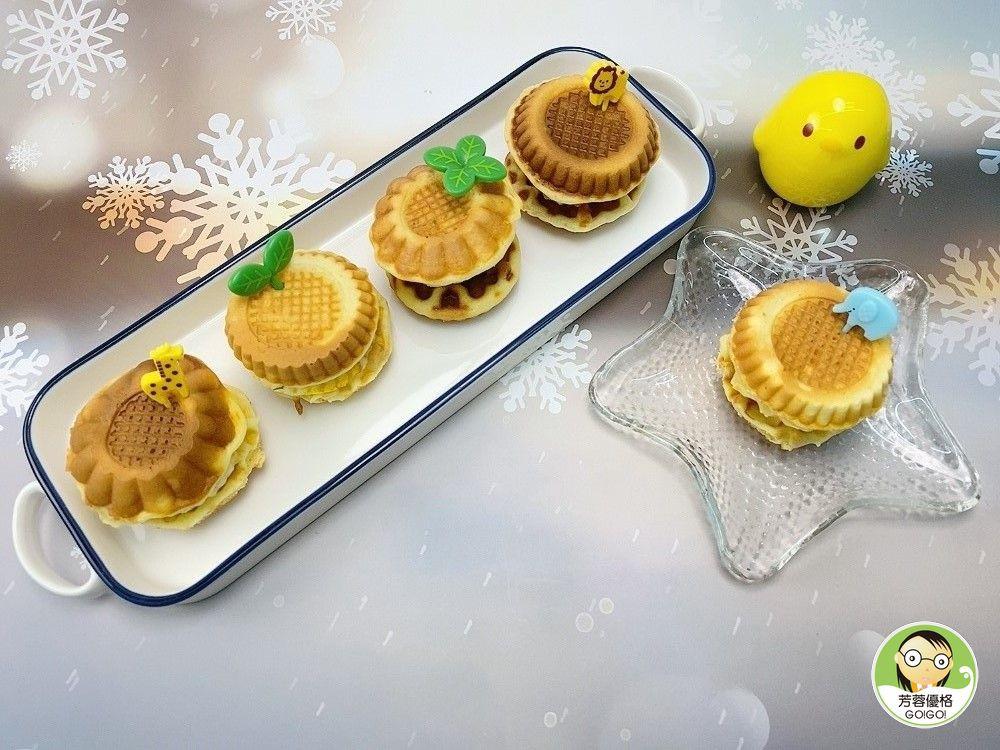 美味塔皮小蛋糕&小小荷包蛋~熱壓機食譜