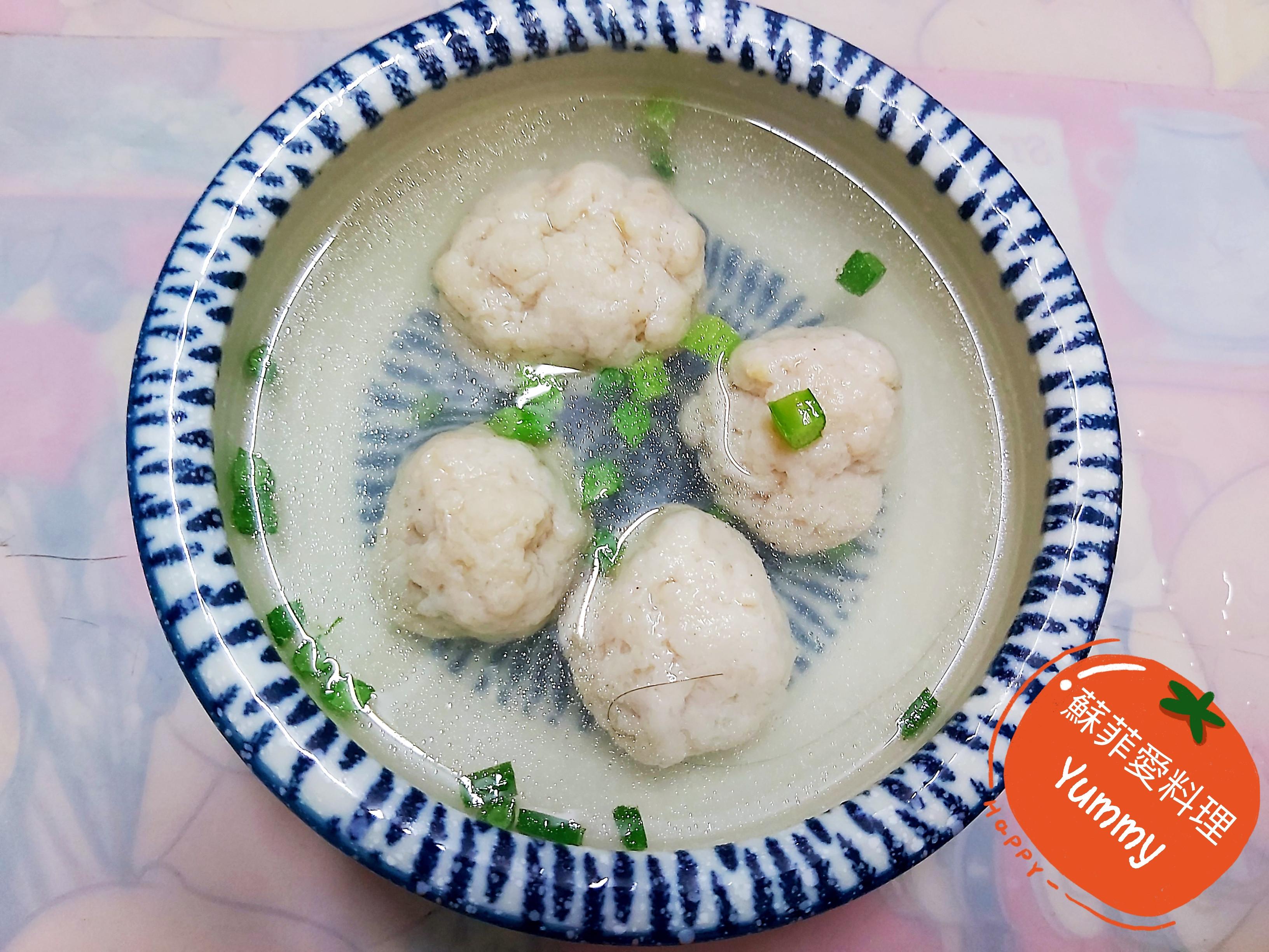 魚丸湯(自製)