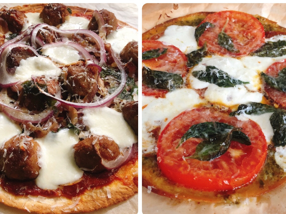 零廚藝速成脆皮披薩