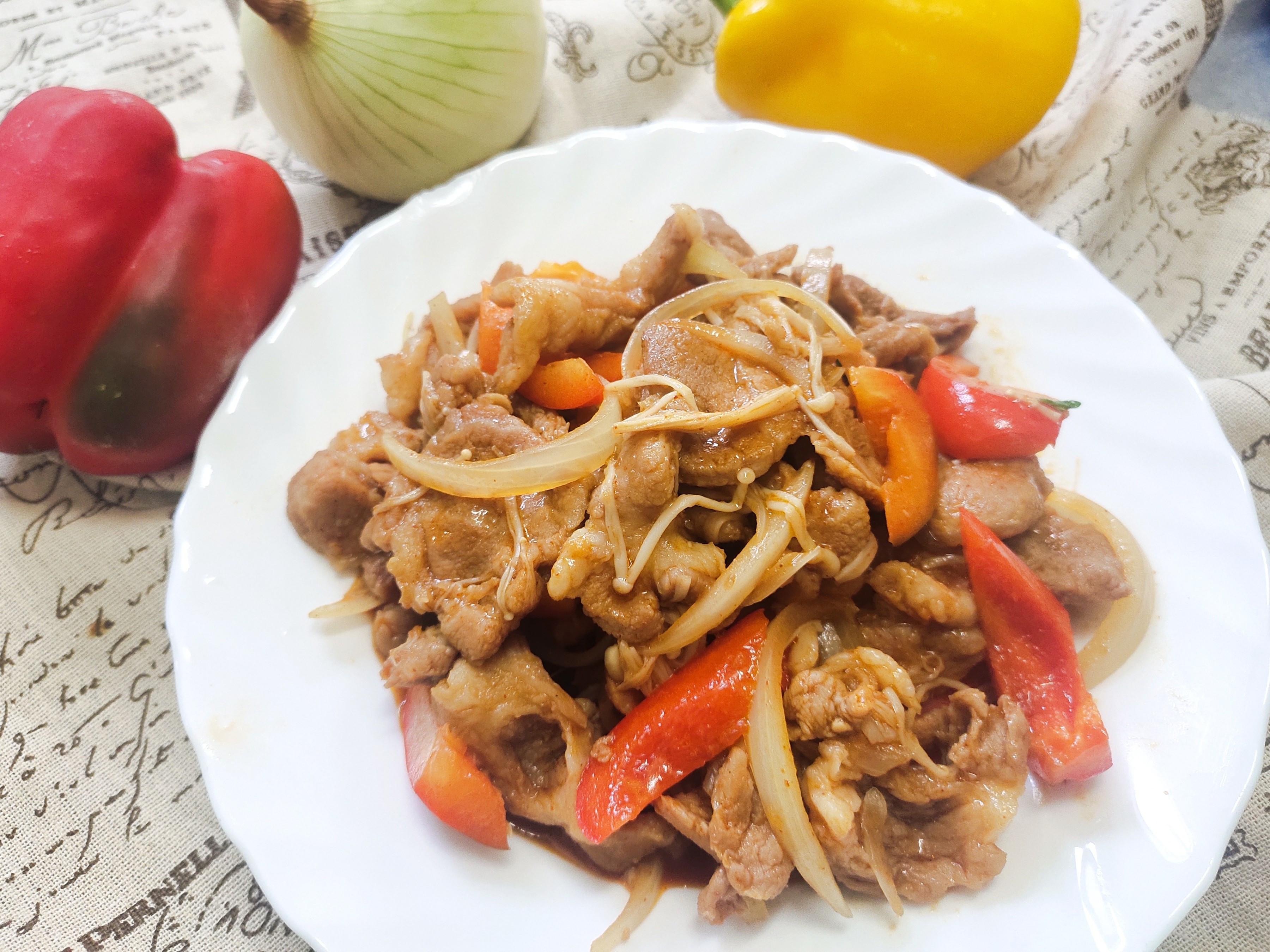 韓式辣味燒肉