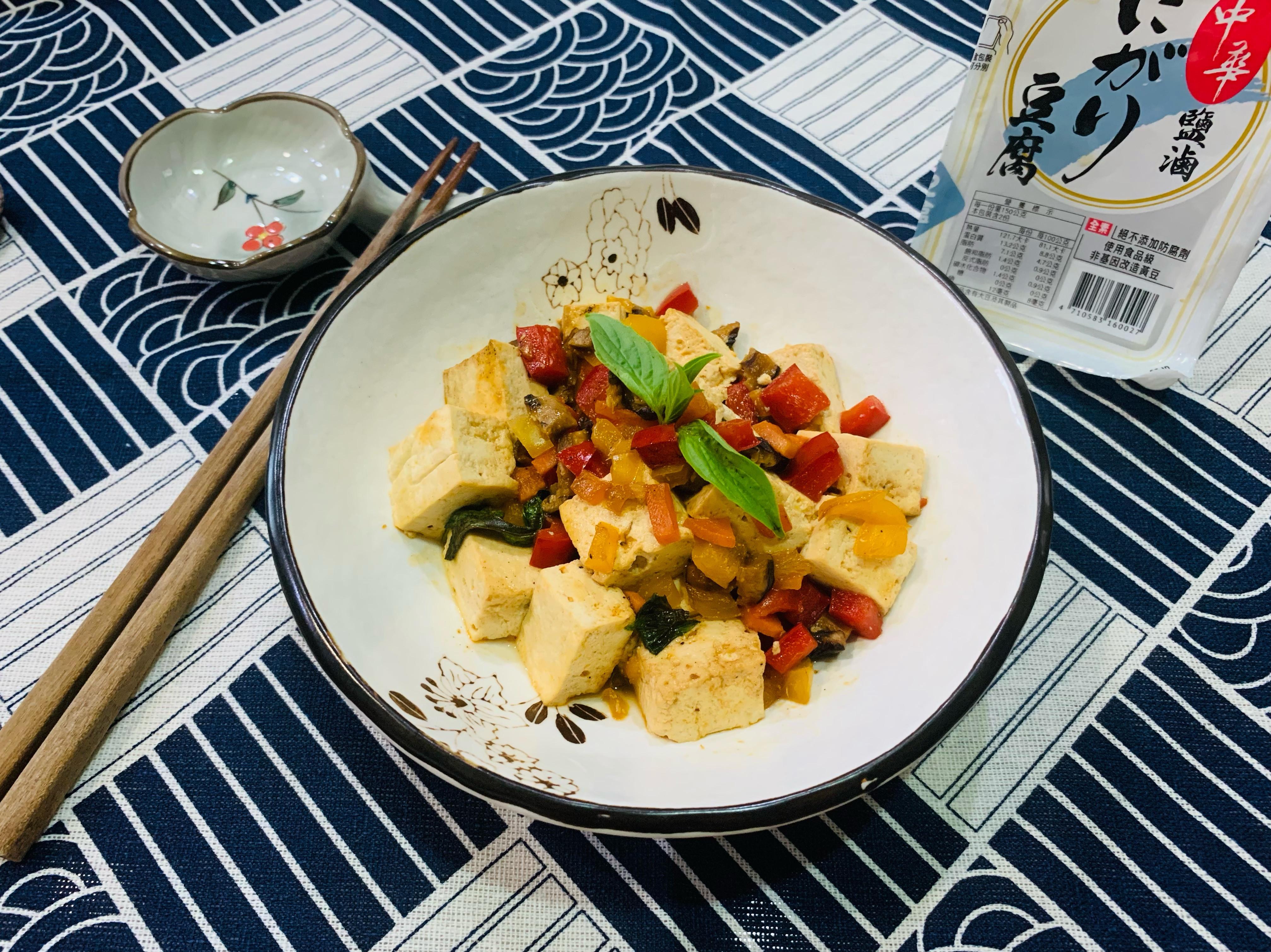 蔬食燒豆腐-純素