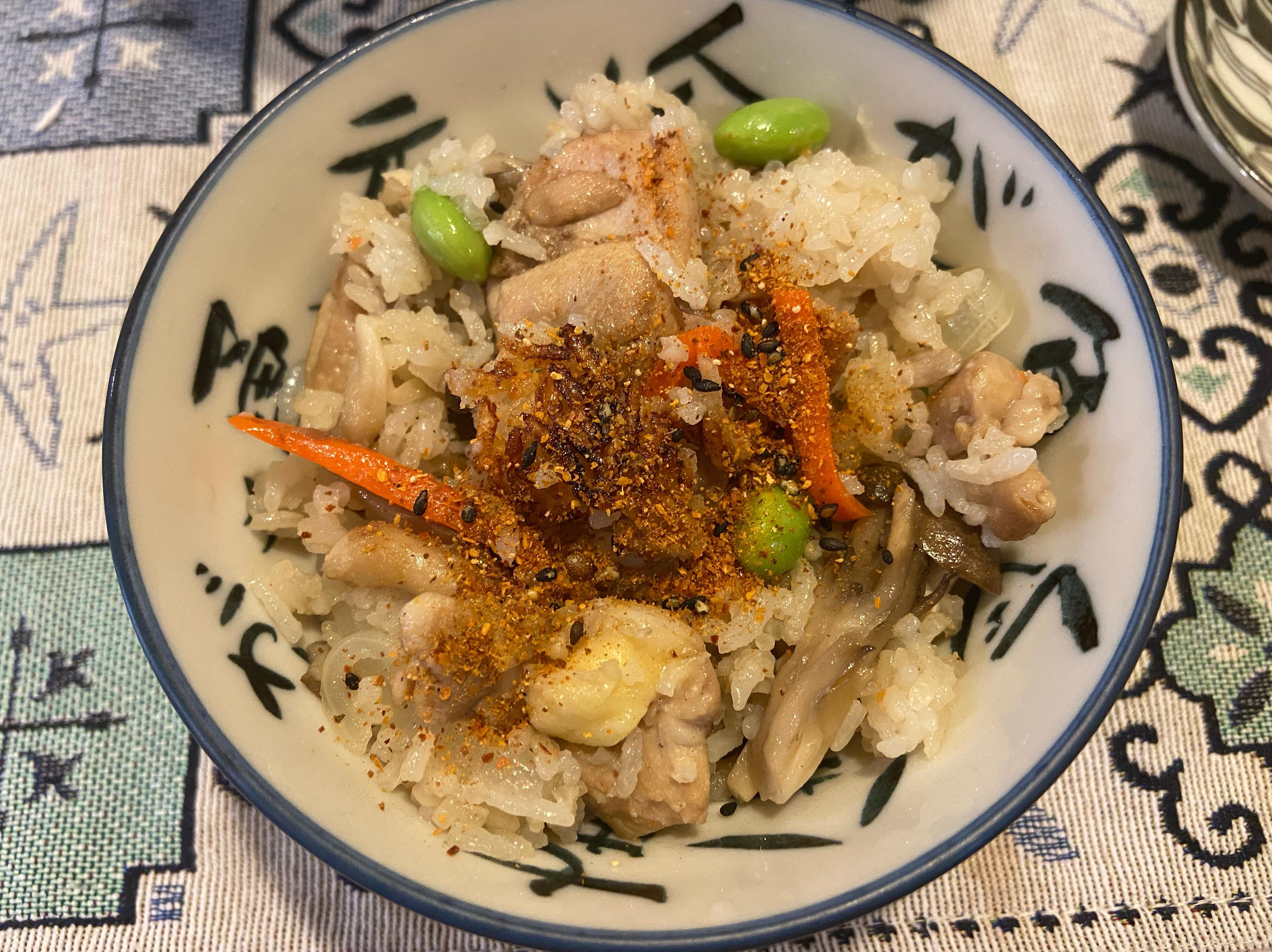 土鍋料理-野菇雞肉炊飯