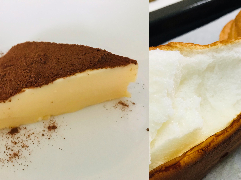 """""""一蛋兩吃"""" 甜點(雲朵麵包&牛奶冰糕)"""