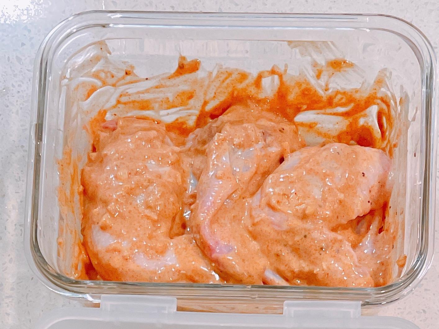 自製烤肉醃醬-匈牙利紅椒優格雞翅
