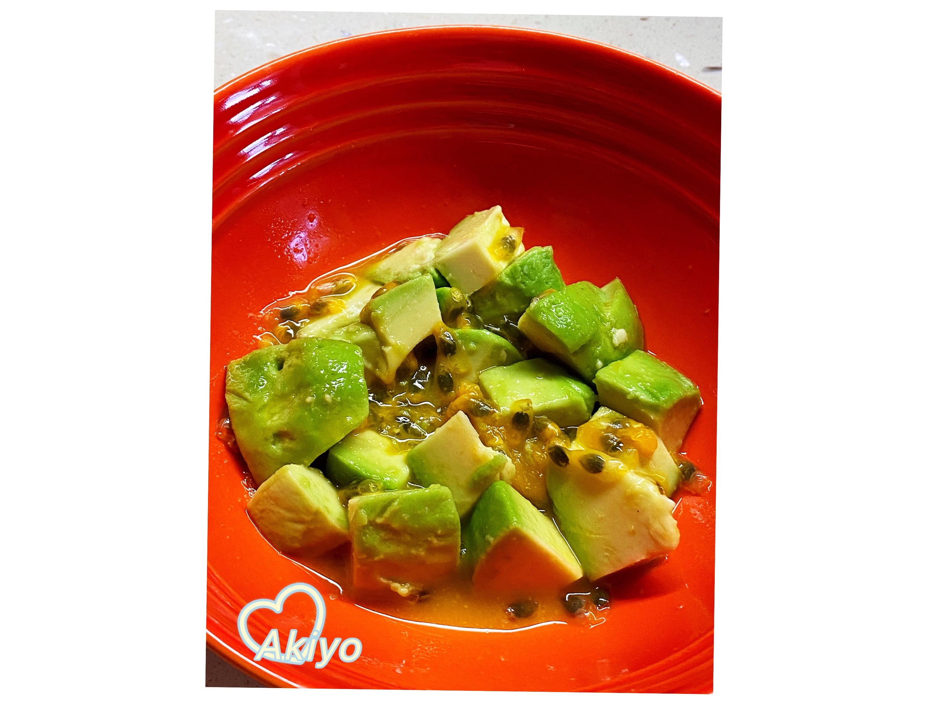酪梨百香果 懶人料理 營養豐富的早餐