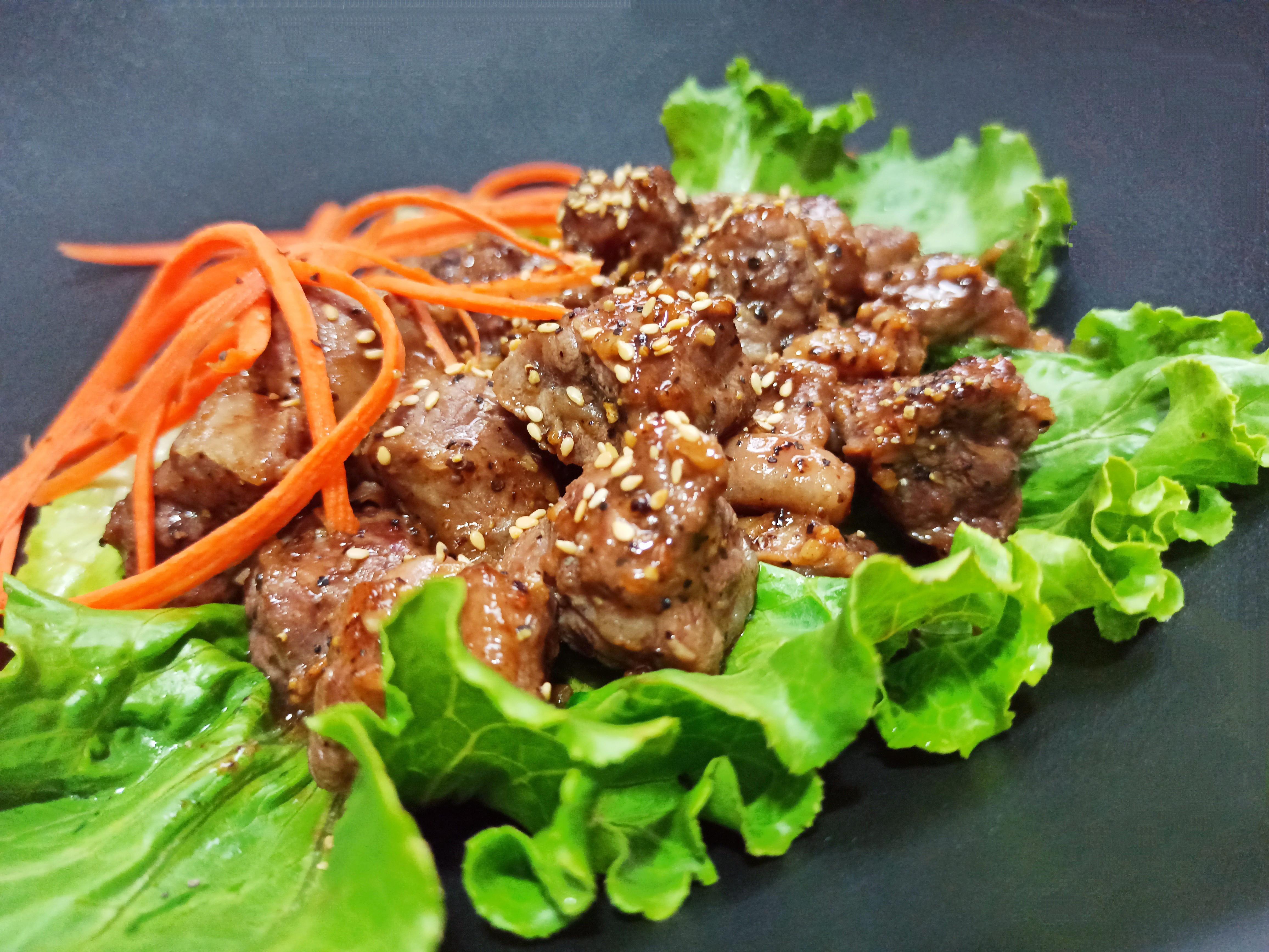 香煎黑胡椒牛肋條(簡單煮)懶人料理