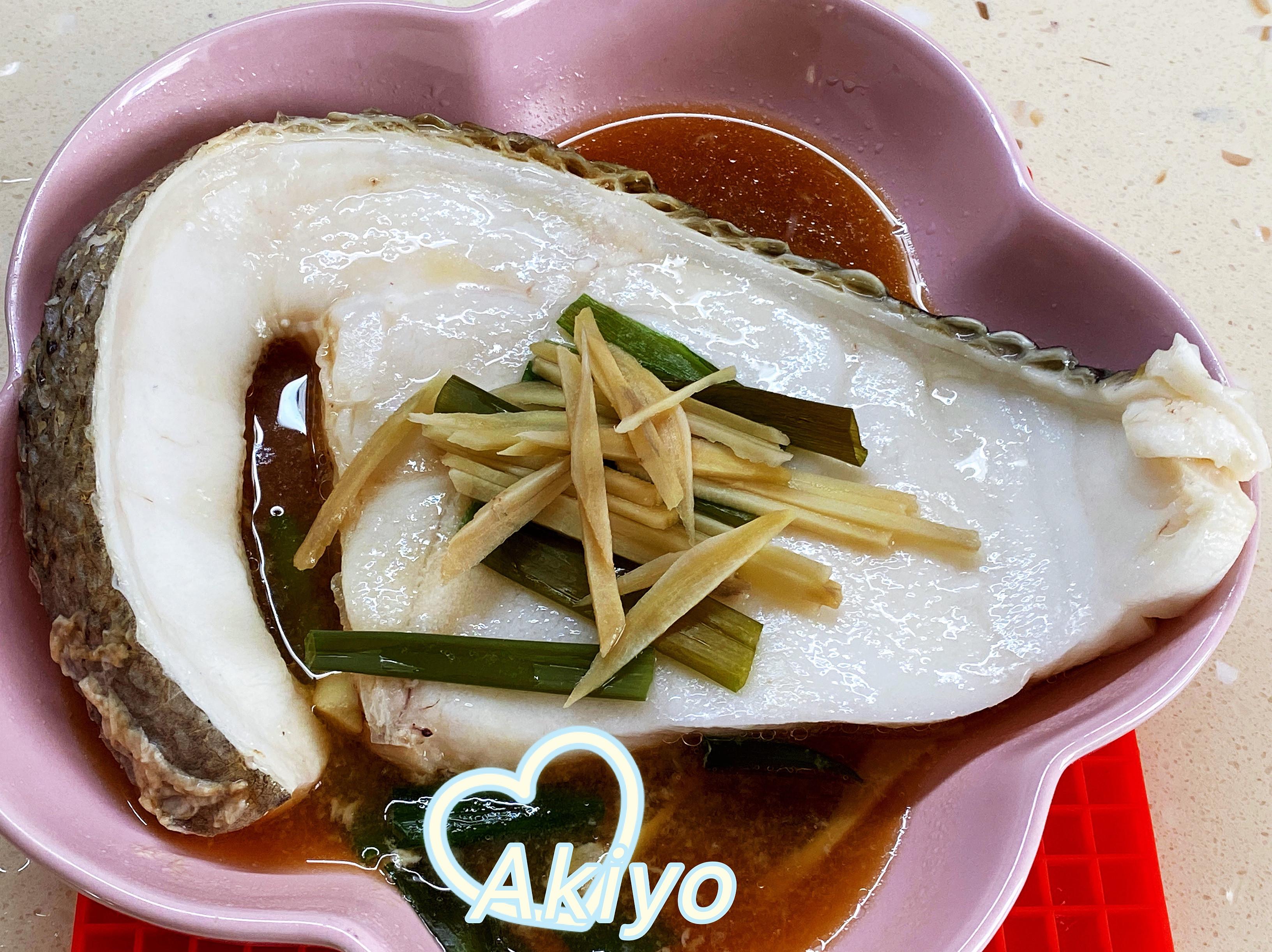 清蒸圓鱈 (電鍋版)懶人料理