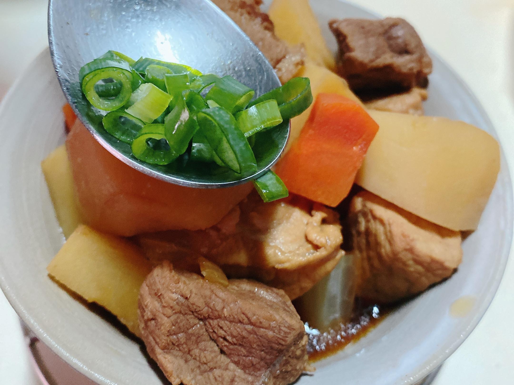 簡易料理-馬鈴薯🥔燉肉