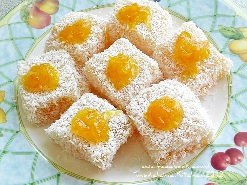 柳橙藕粉涼凍