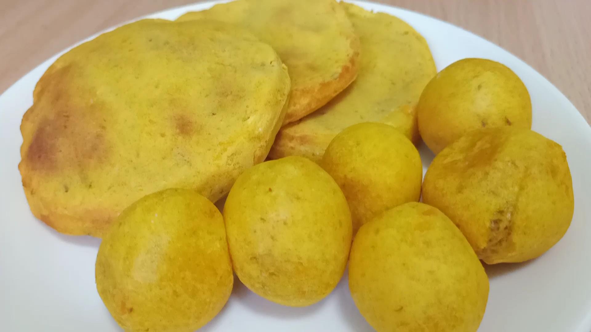氣炸地瓜球&地瓜餅