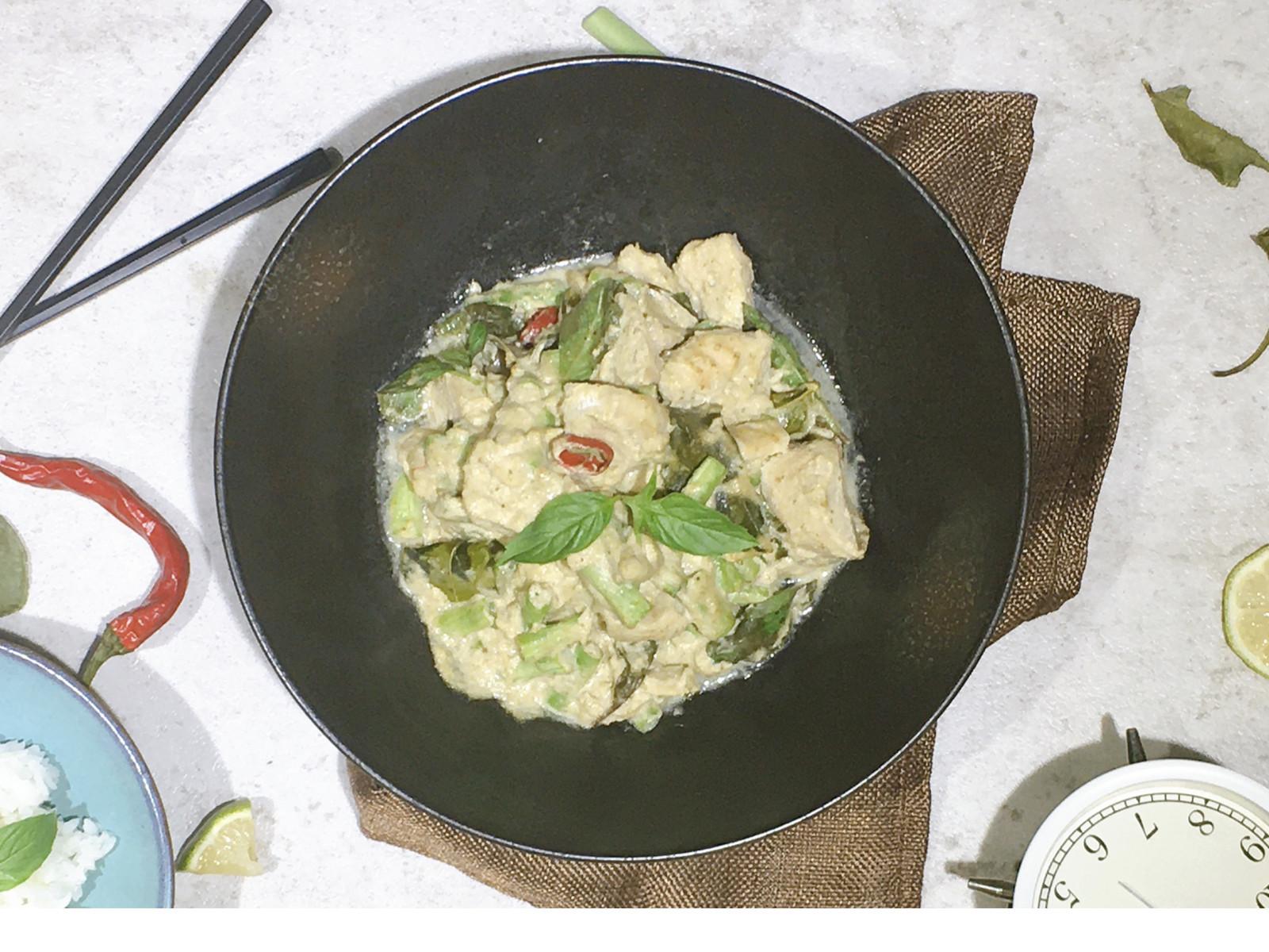 椰香綠咖哩(2人份)