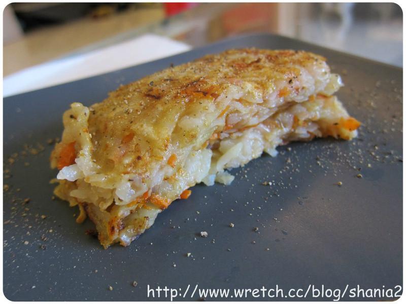 營養好吃的早餐 -- 紅蘿蔔馬玲薯煎餅