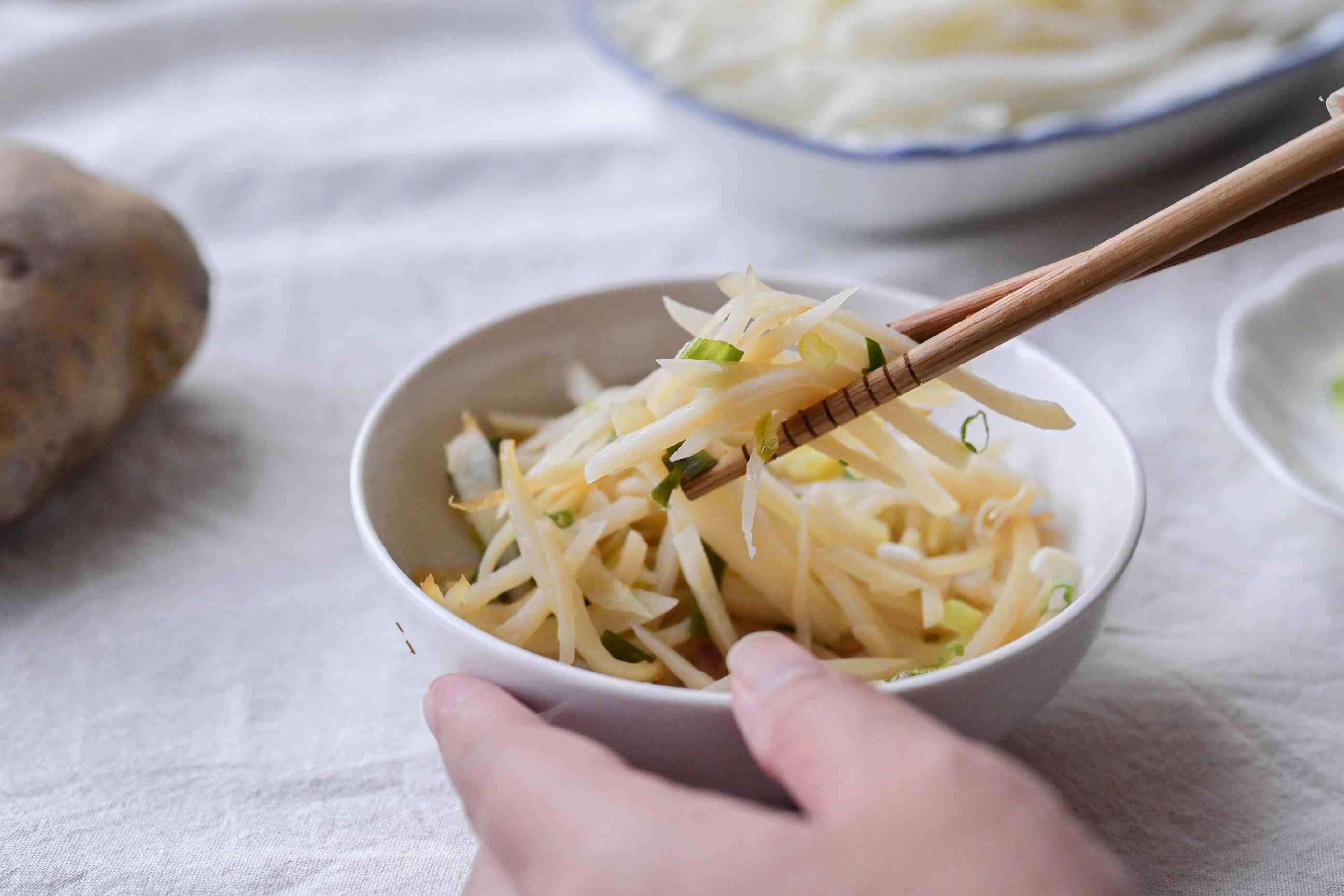 日式柚子辣椒醬醋溜土豆絲
