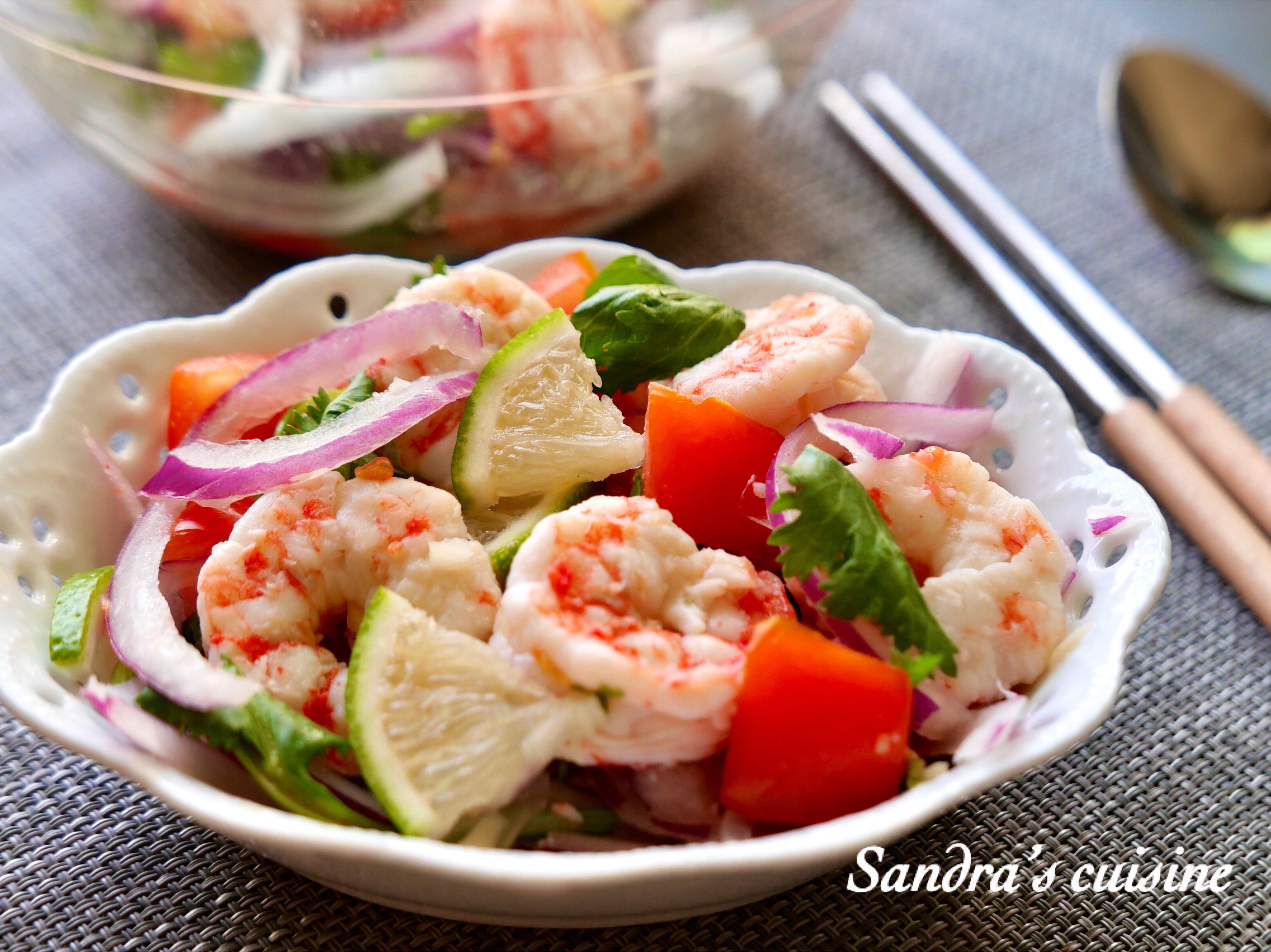 泰式涼拌鮮蝦
