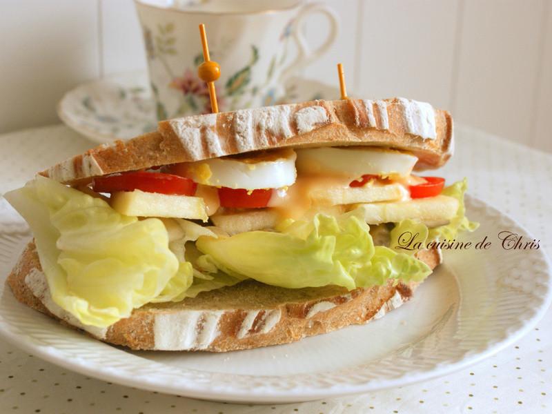 [早午餐] 歐式麵包三明治