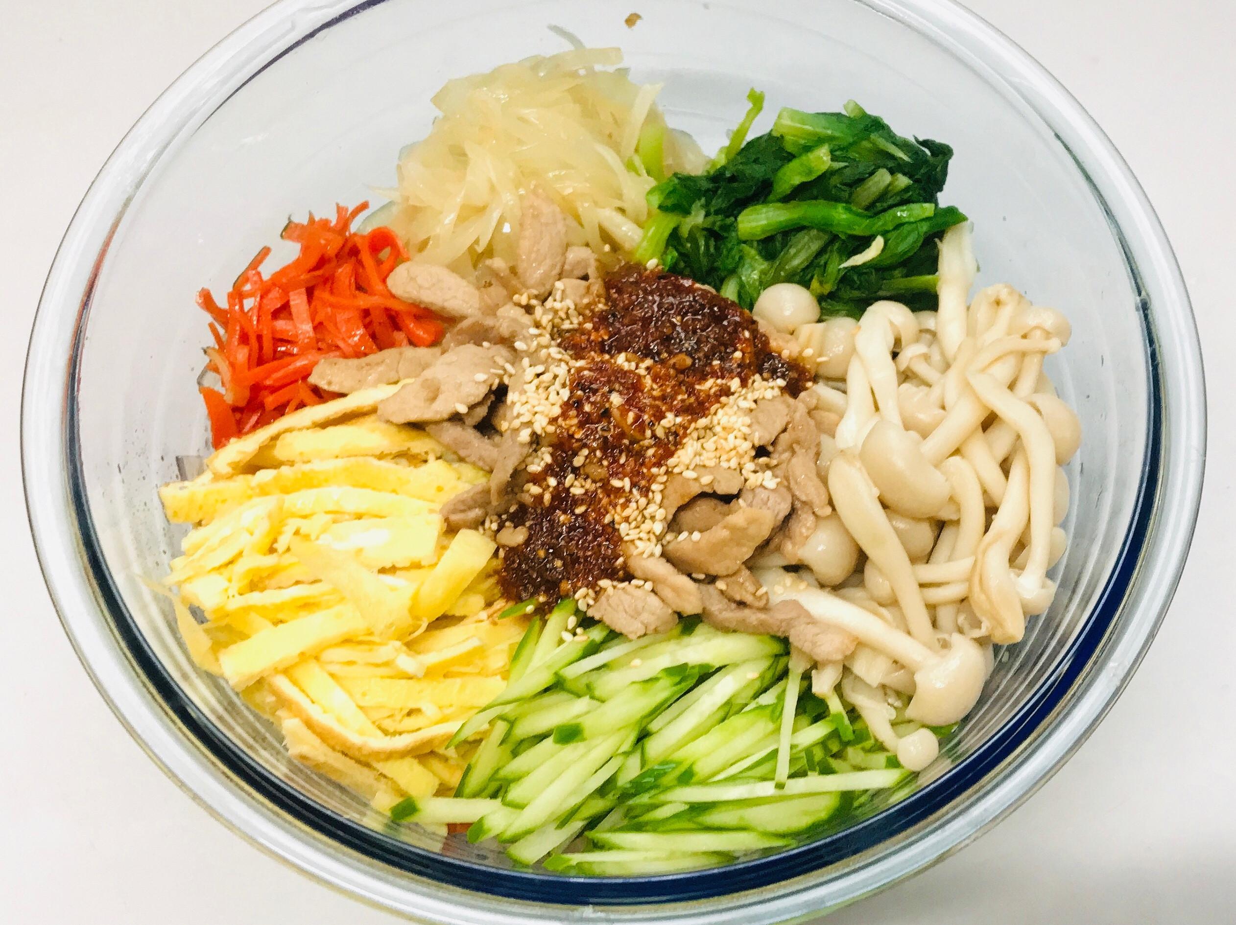 冒牌的 韓式雜菜 ~ 拌冬粉