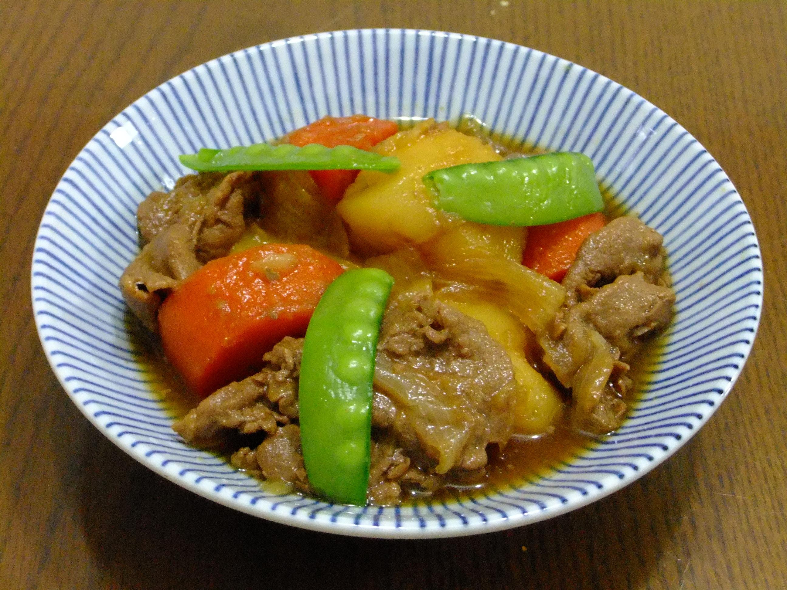 <深夜食堂>關西風馬鈴薯燉肉(肉じゃが)