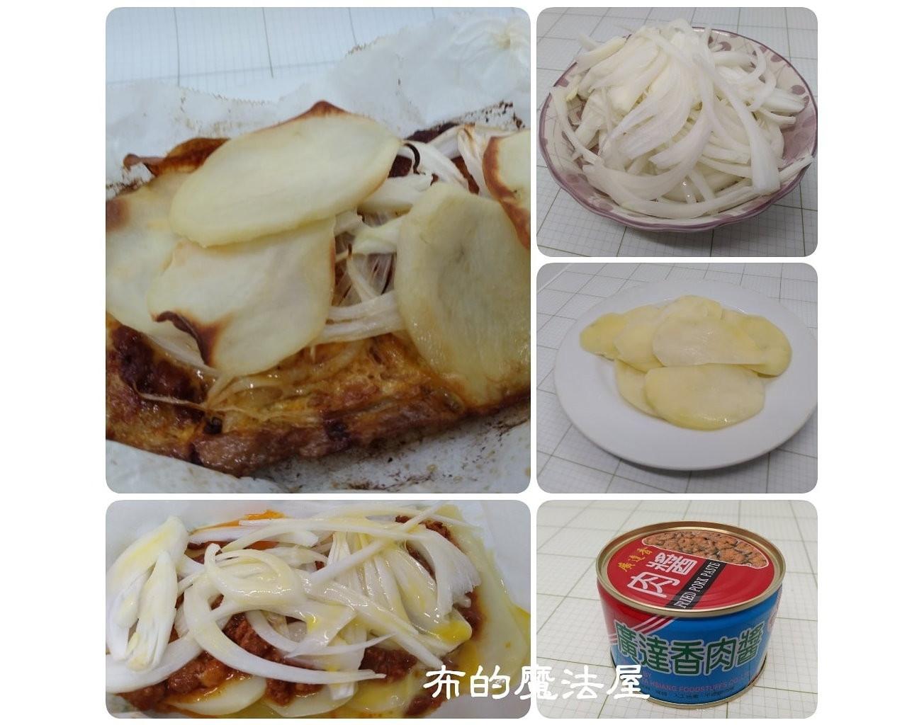 烤箱-烤洋蔥馬鈴薯肉醬