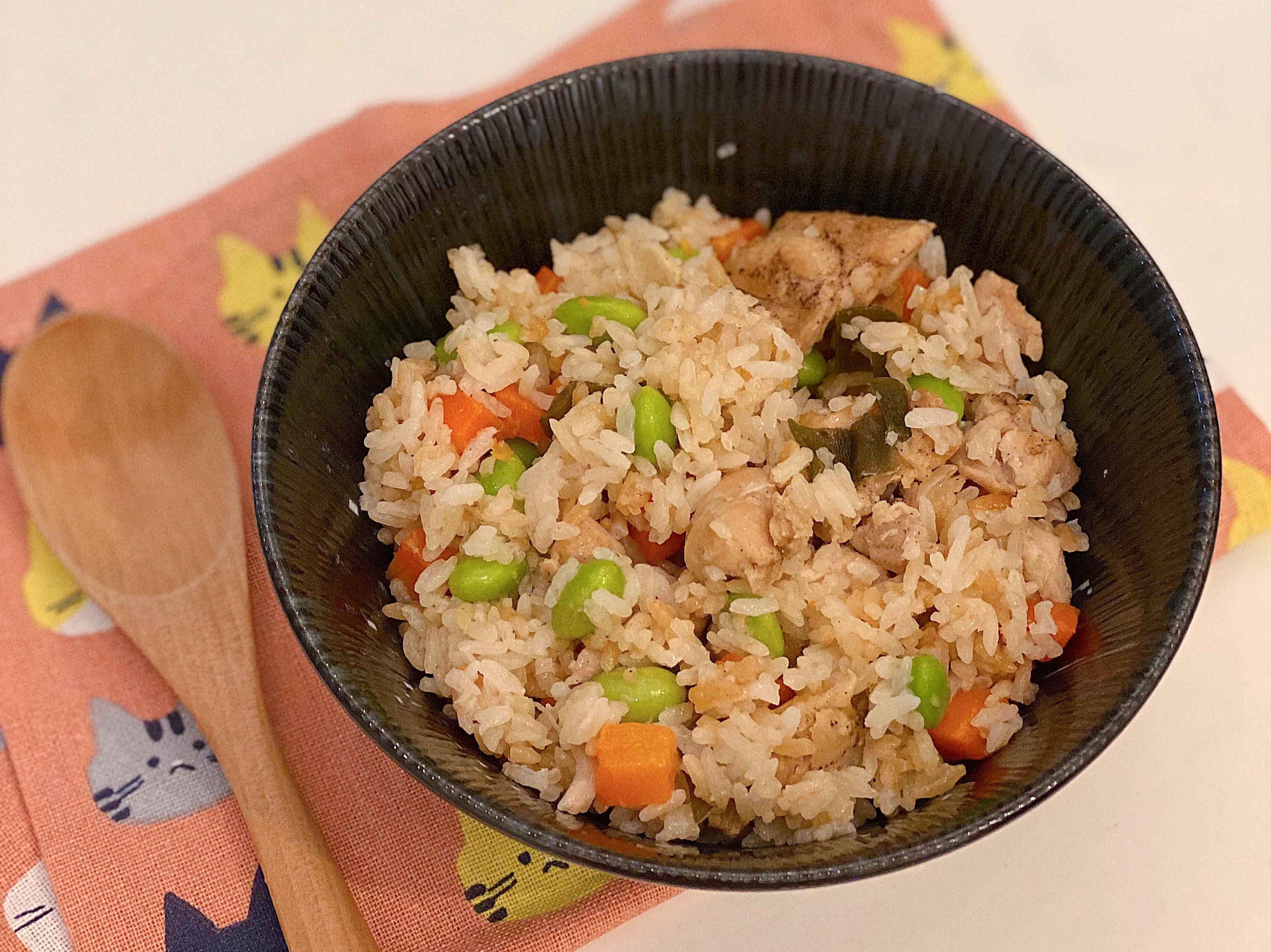 懶人日式雞肉炊飯