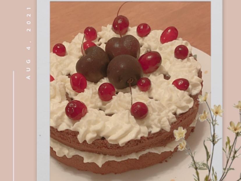 可可戚風裸蛋糕(6吋)