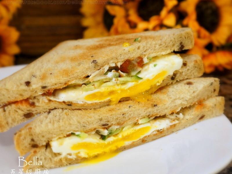 [Bella五星級廚房]美而美烤蛋三明治