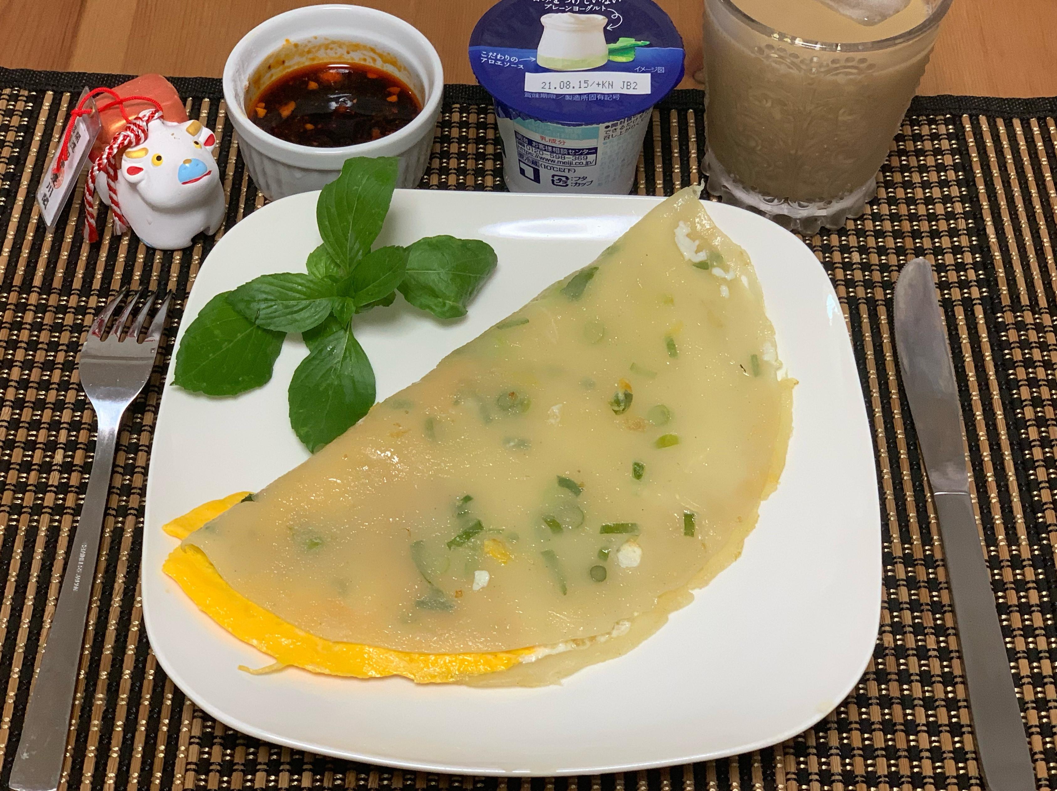 古早味粉漿QQ蛋餅(懶人早餐)