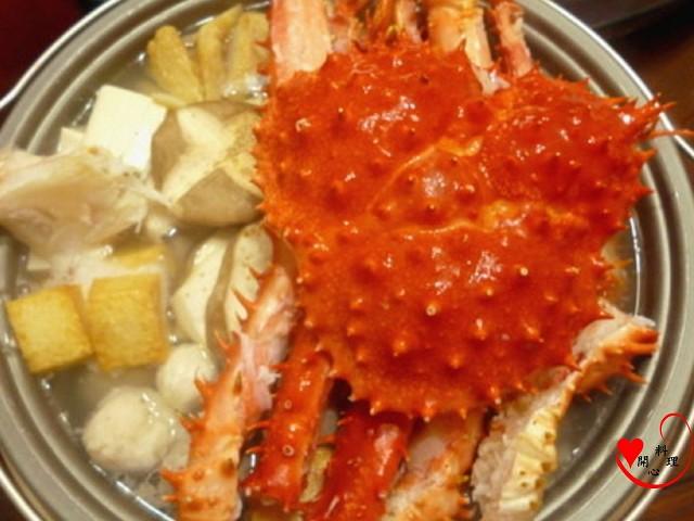年菜食譜 帝王蟹鍋
