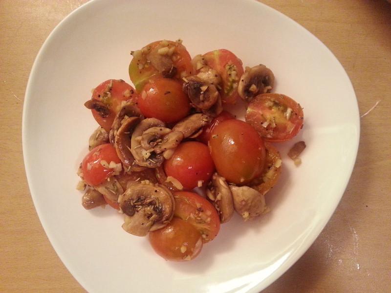 迷迭香蒜煎蕃茄