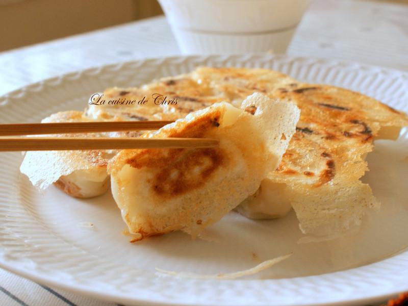 [麵食] 脆皮冰花煎餃