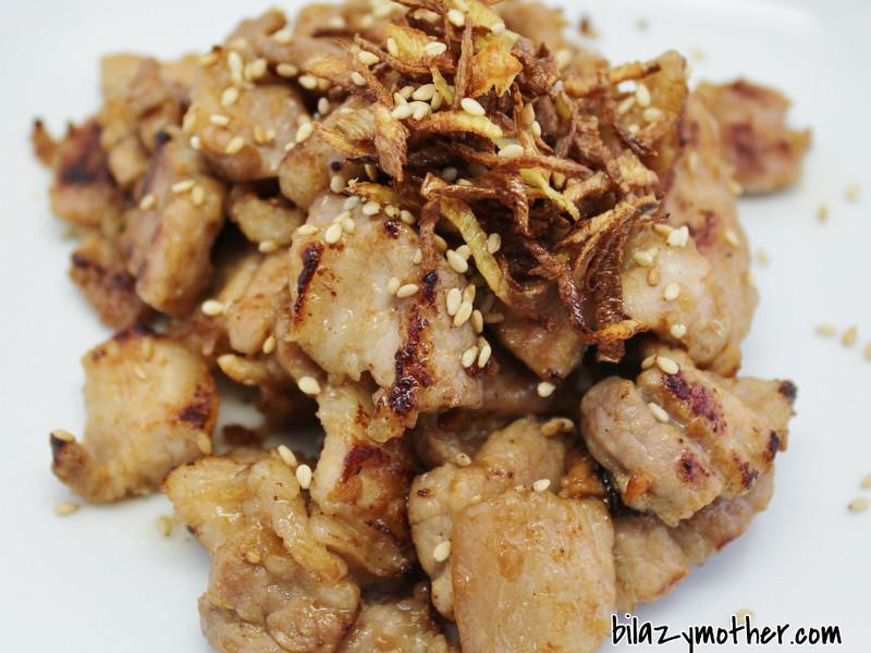 薑絲咸豬肉