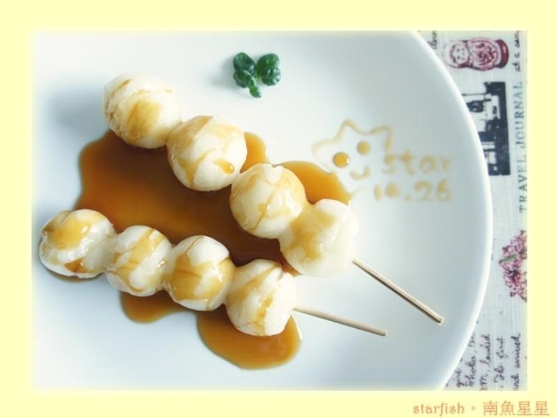 [星星廚房] 日式醬油串丸子