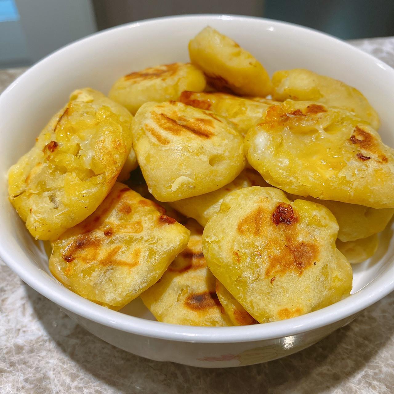 地瓜起司餅