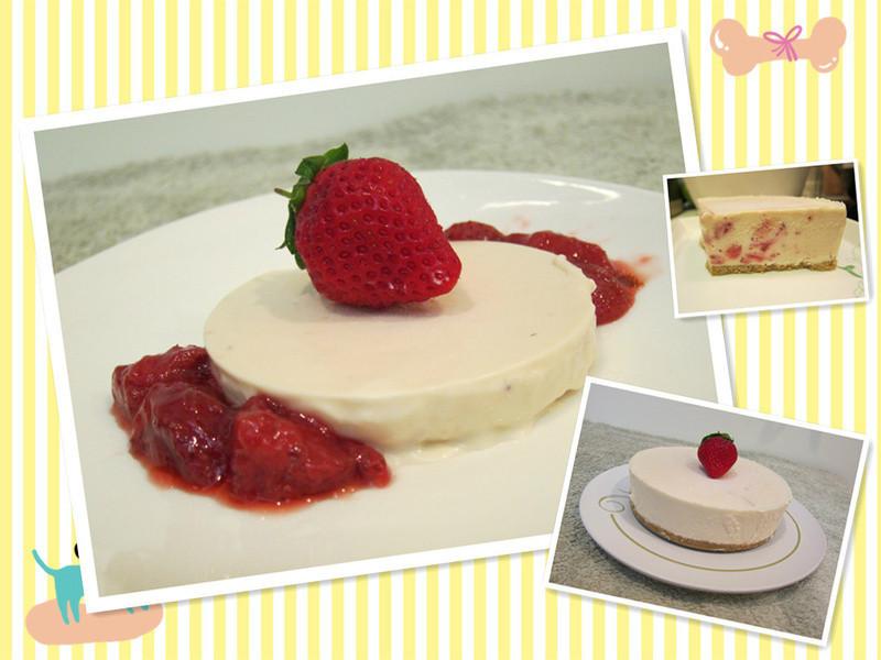 【S&Cm】冬季限定~草莓果粒生乳酪蛋糕