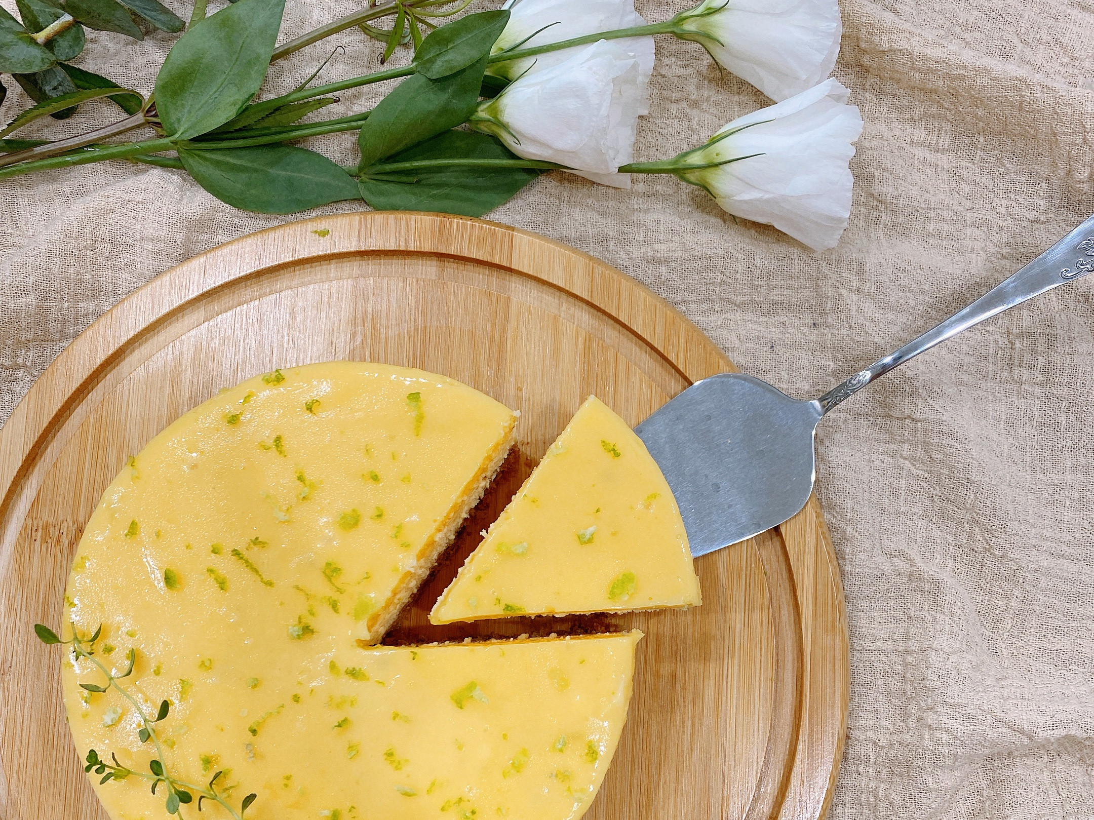 檸檬重乳酪蛋糕 六吋