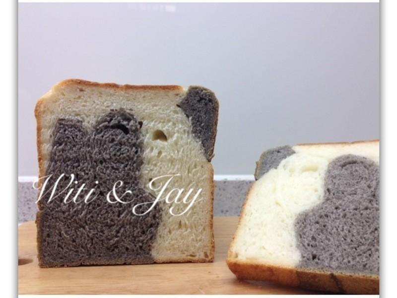 Witi✿Kitchen](麵包機-麵包)乳牛紋吐司麵包