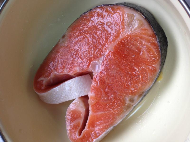 [年菜-魚料理]乾煎鮭魚片