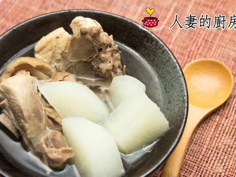 【人妻的廚房】豆仔薯雞湯