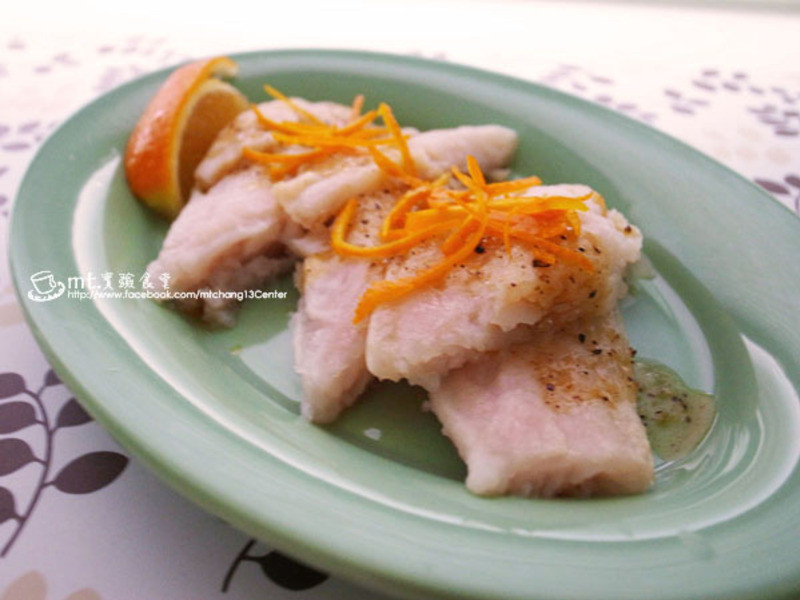 橙香牛奶魚
