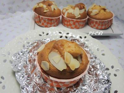 蜂蜜鬆餅杯子蛋糕