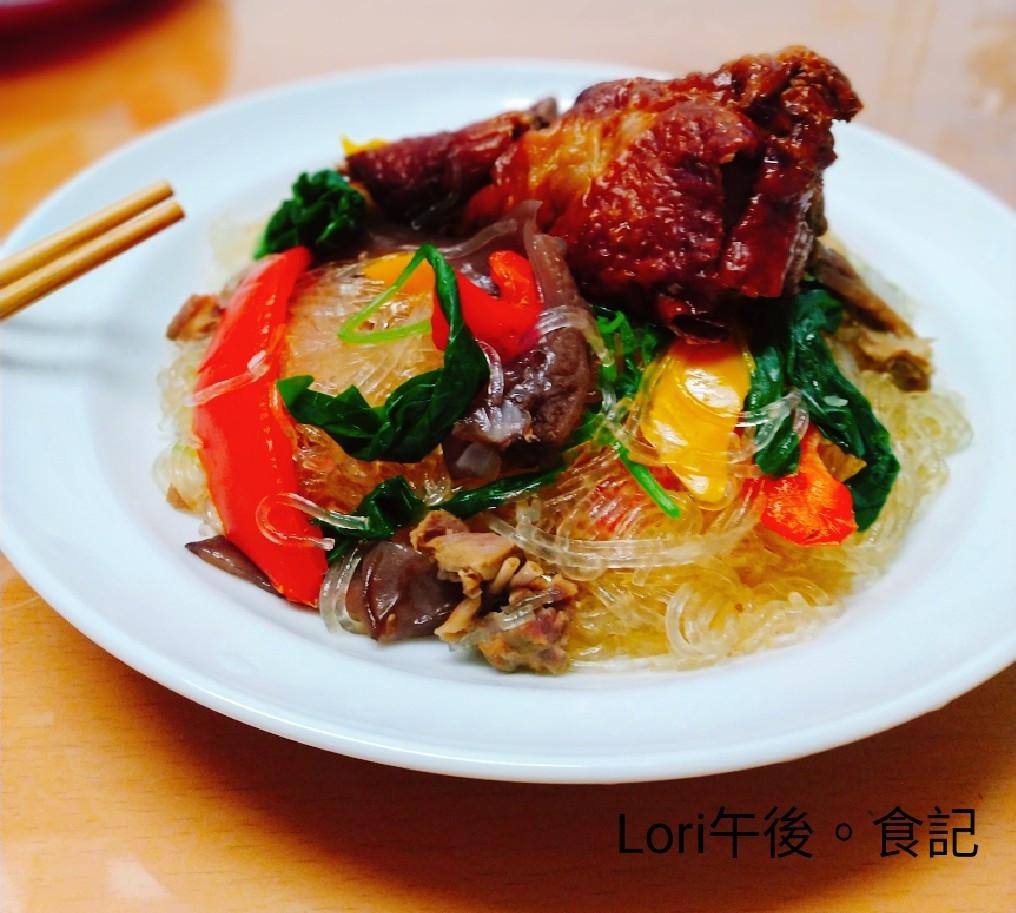 雜菜鴨肉冬粉